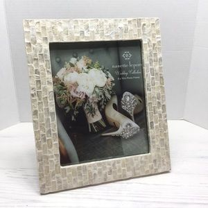 NANETTE LEPORE   Mother Of Pearl Tile 8x10 Frame